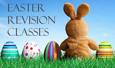 Easter Revision Classes – April 2017